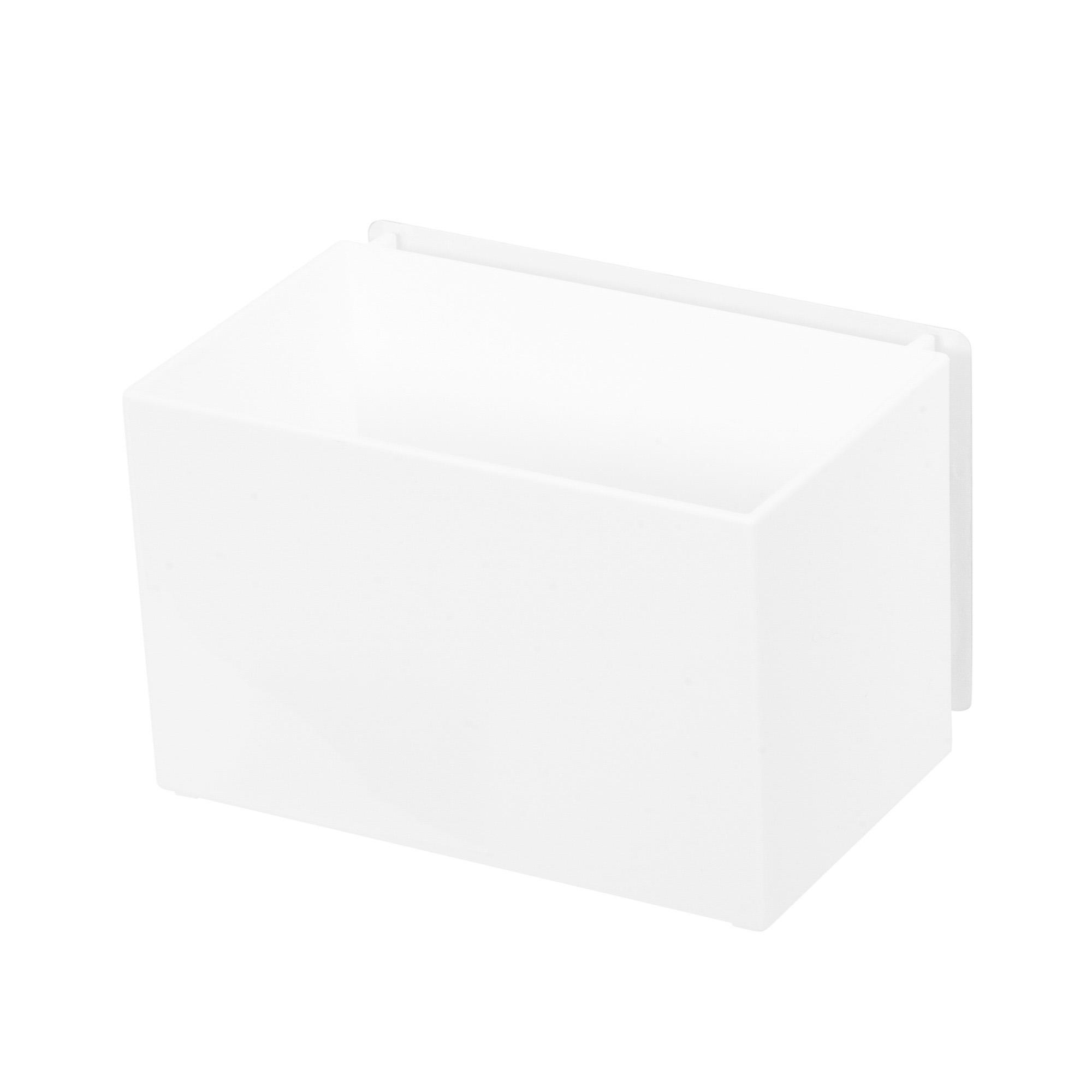 Boîte de rangement auto-adhésive 16x10,2cm