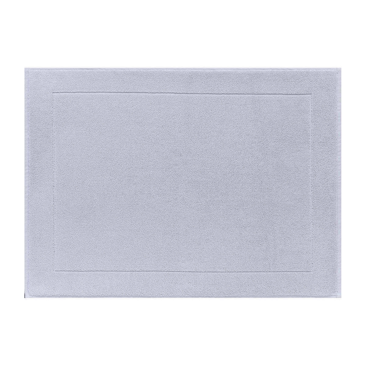 Tapis de bain en coton voile grisé 60 x 80