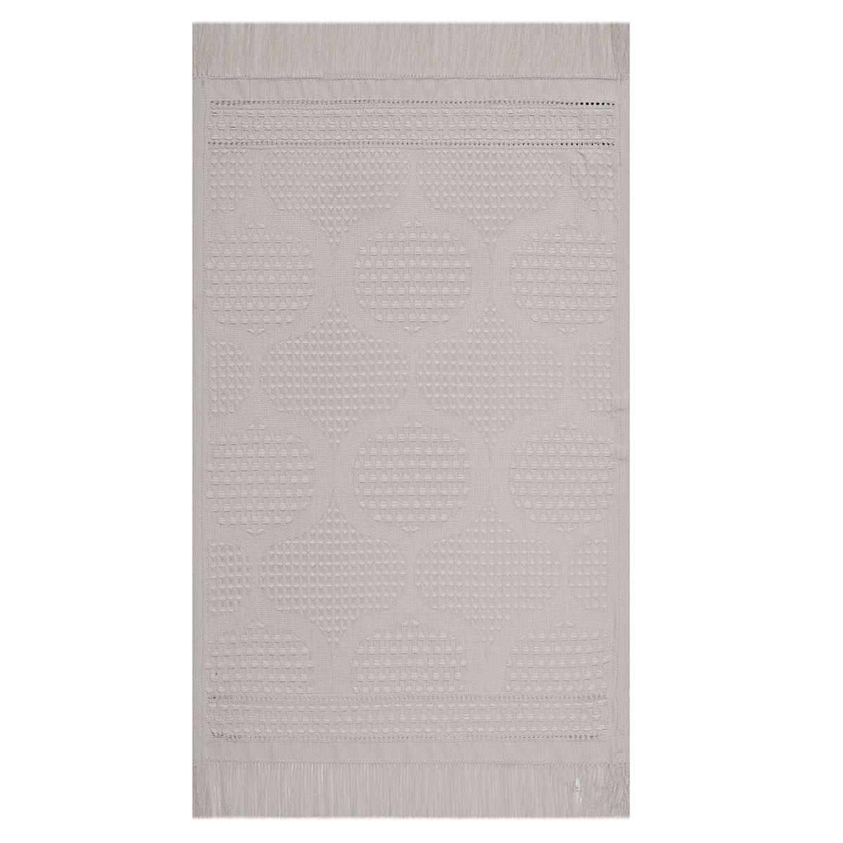 Serviette en coton argile 30 x 50