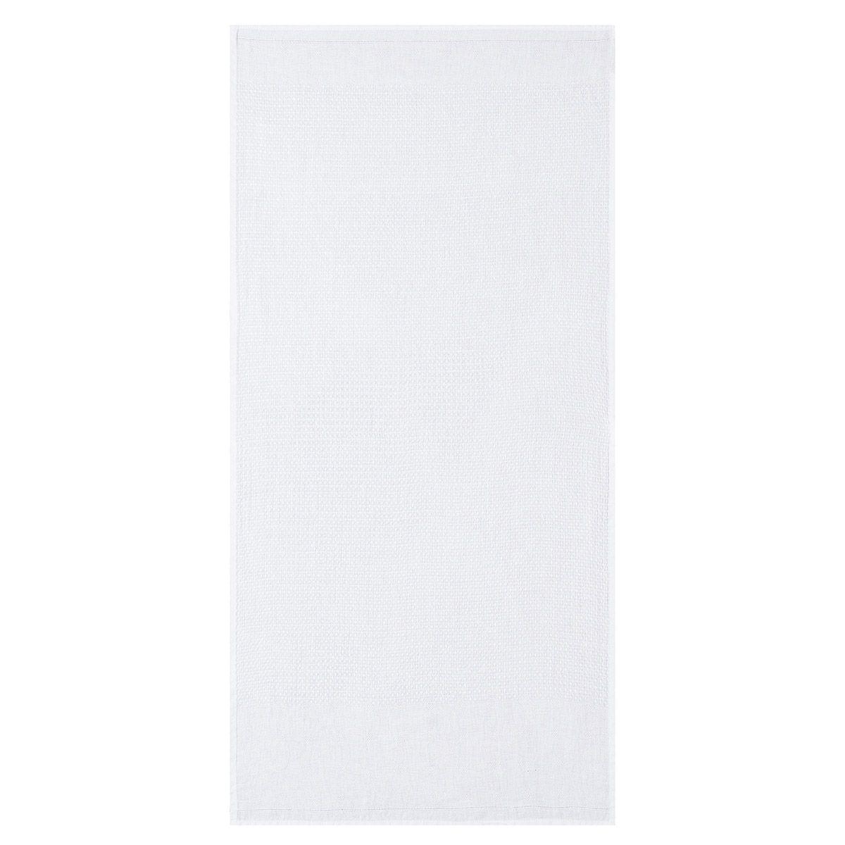 Serviette en lin blanc 30 x 50