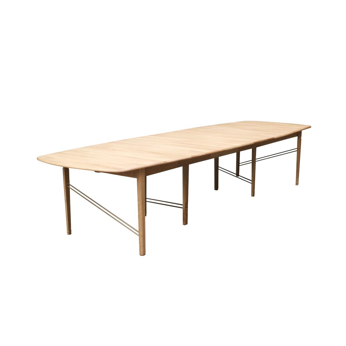 Grande table chêne clair naturel
