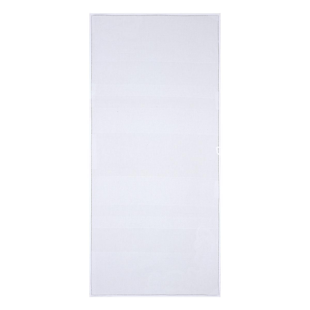 Serviette en coton blanc 50 x 100