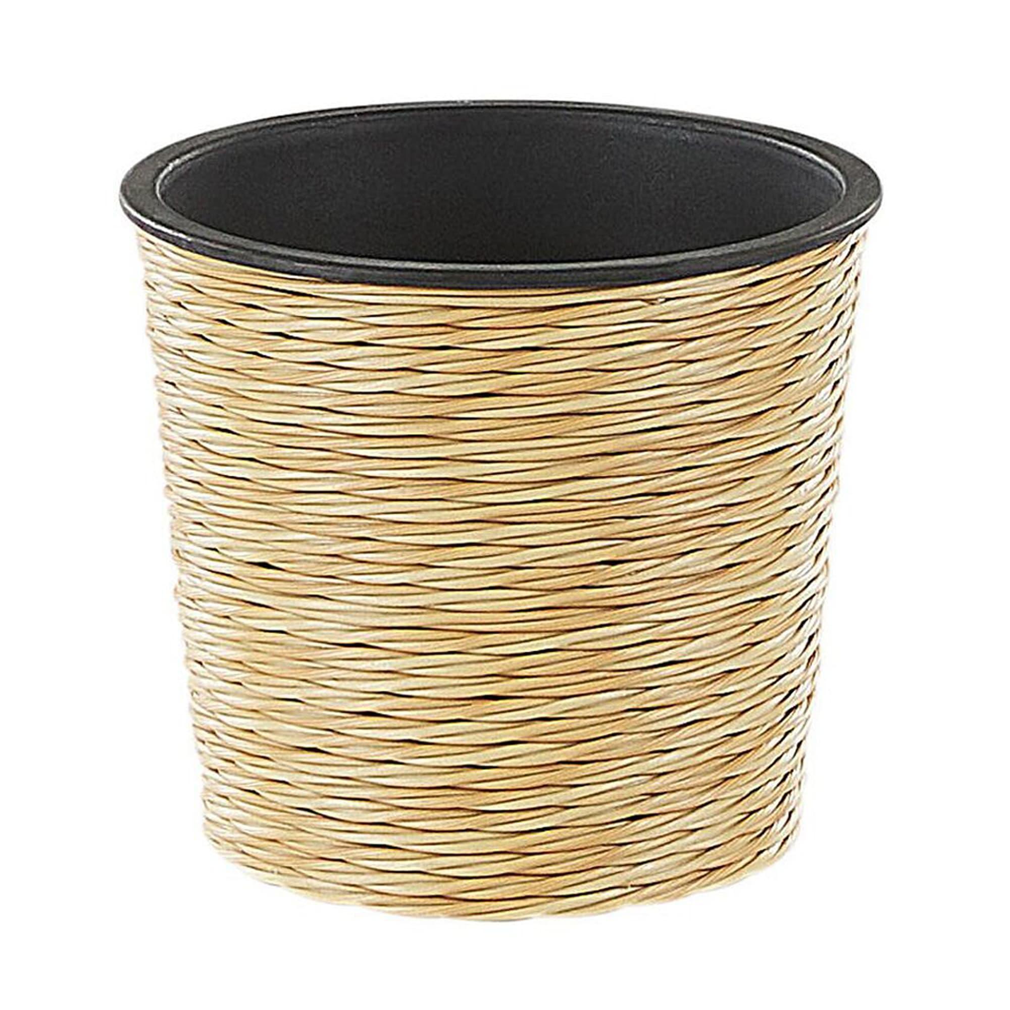 Pot de fleurs beige sable D16 cm