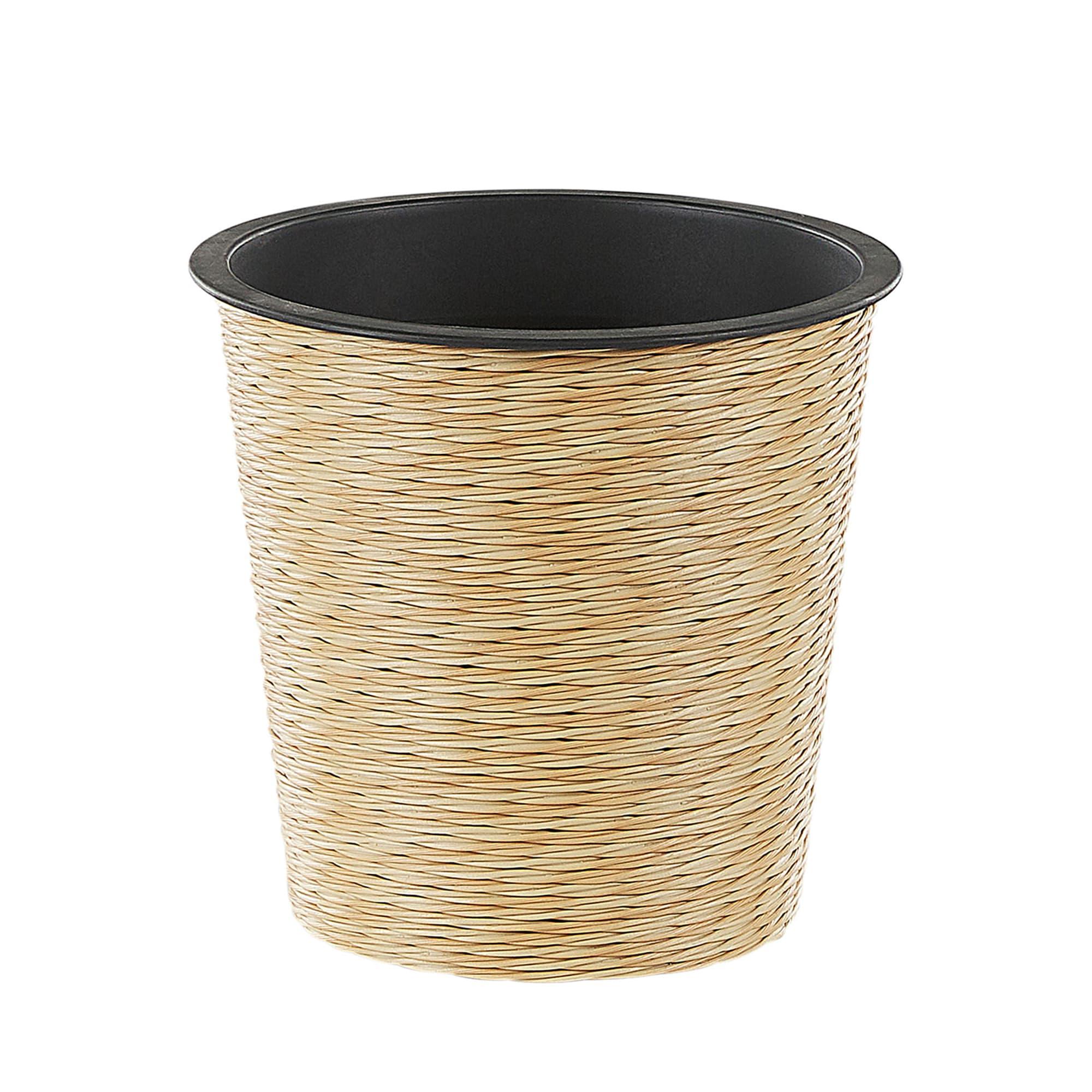 Pot de fleurs beige sable D 30 cm