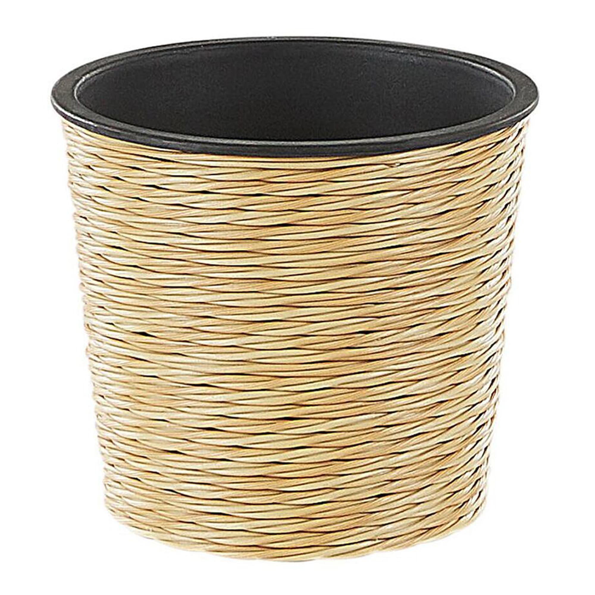 Pot de fleurs beige sable D 20 cm