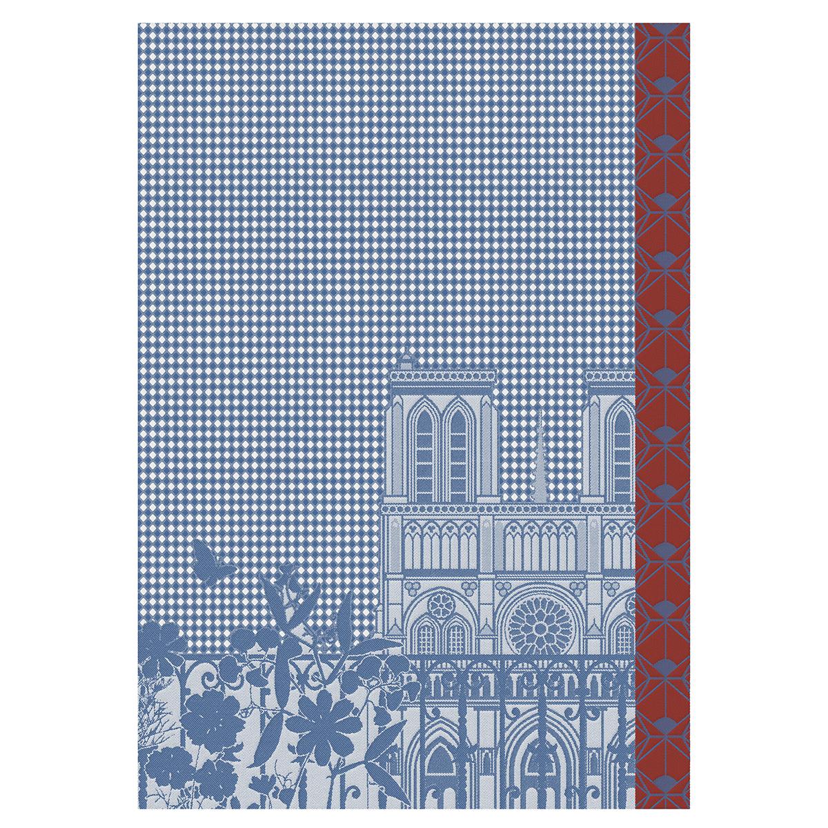 Essuie-mains en coton ciel 54 x 38