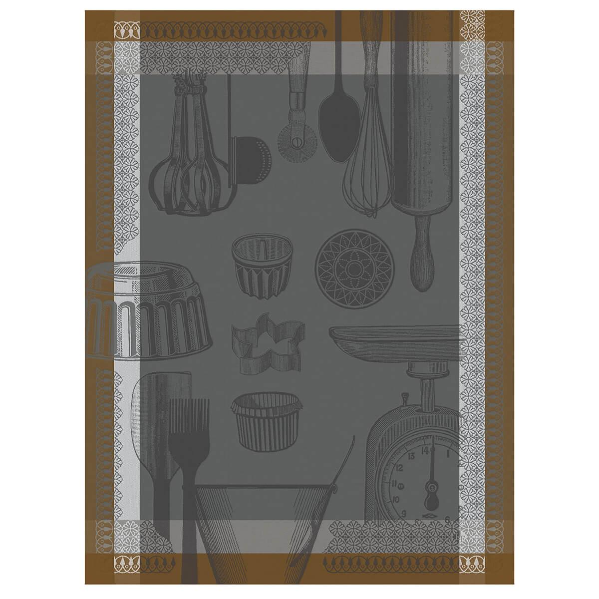 Torchon en coton equinoxe 60 x 80
