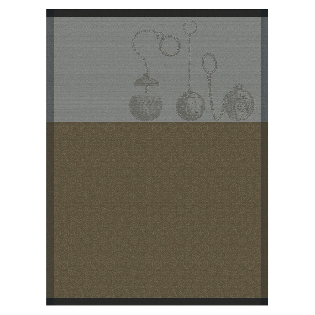 Torchon en coton dore 60 x 80
