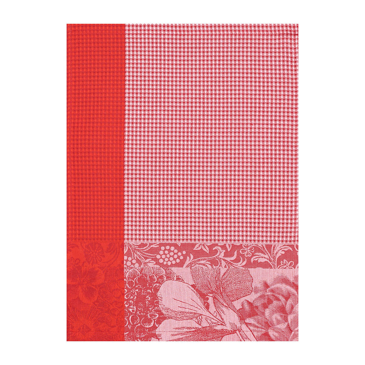 Essuie-mains en coton fleur 54 x 38