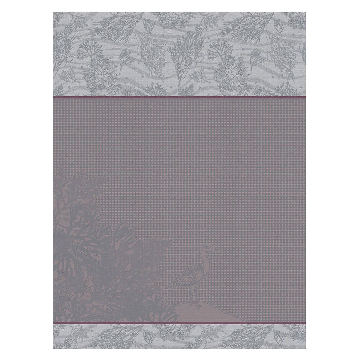 Essuie-mains en coton fleur 60 x 80