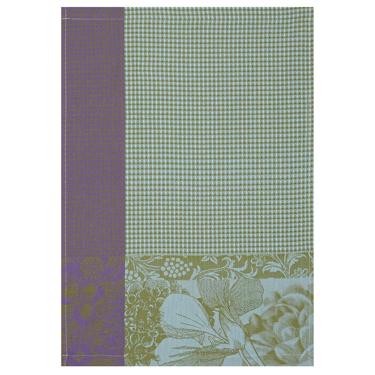 Essuie-mains en coton chlorophylle 54 x 38