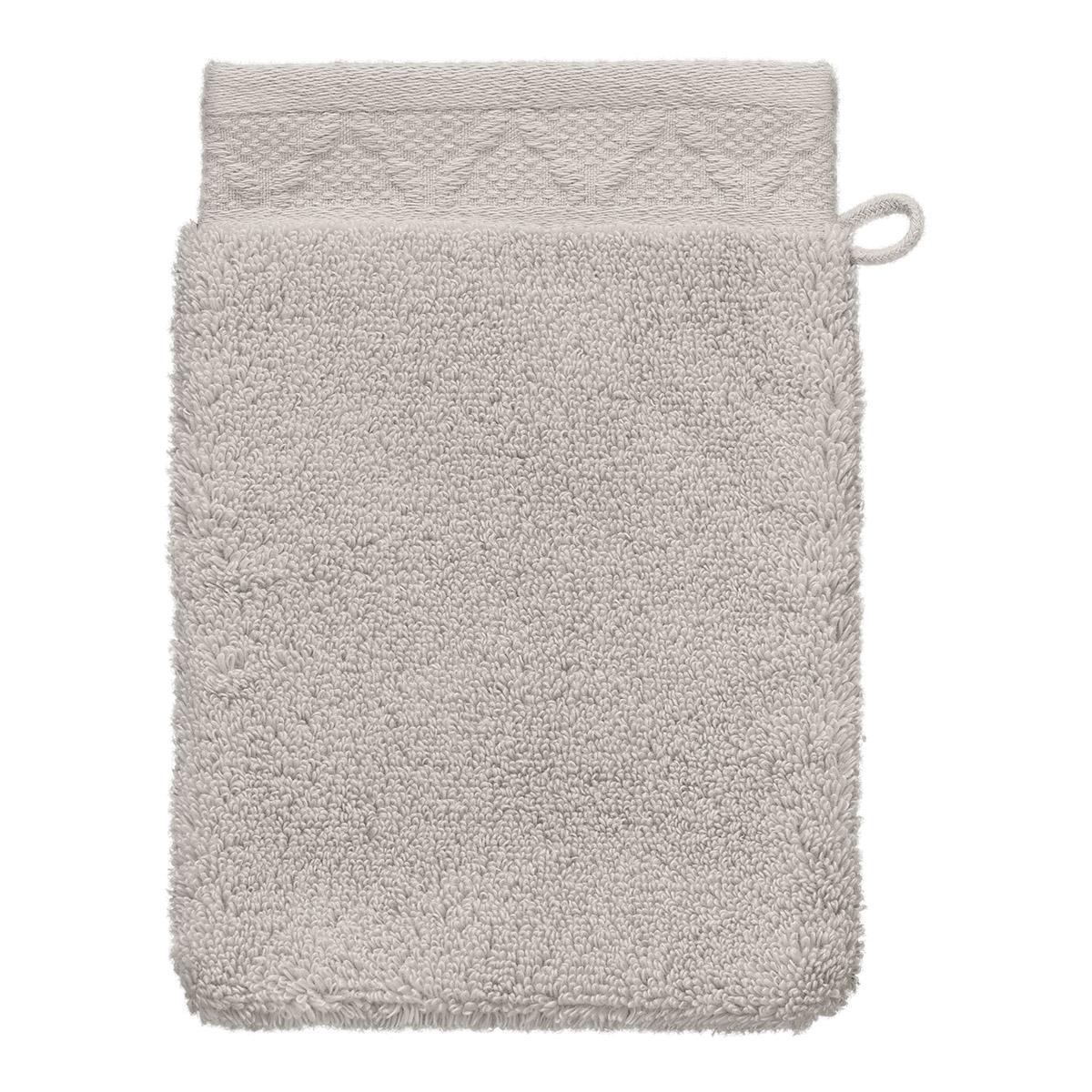 Gant de toilette en coton lin 15 x 22