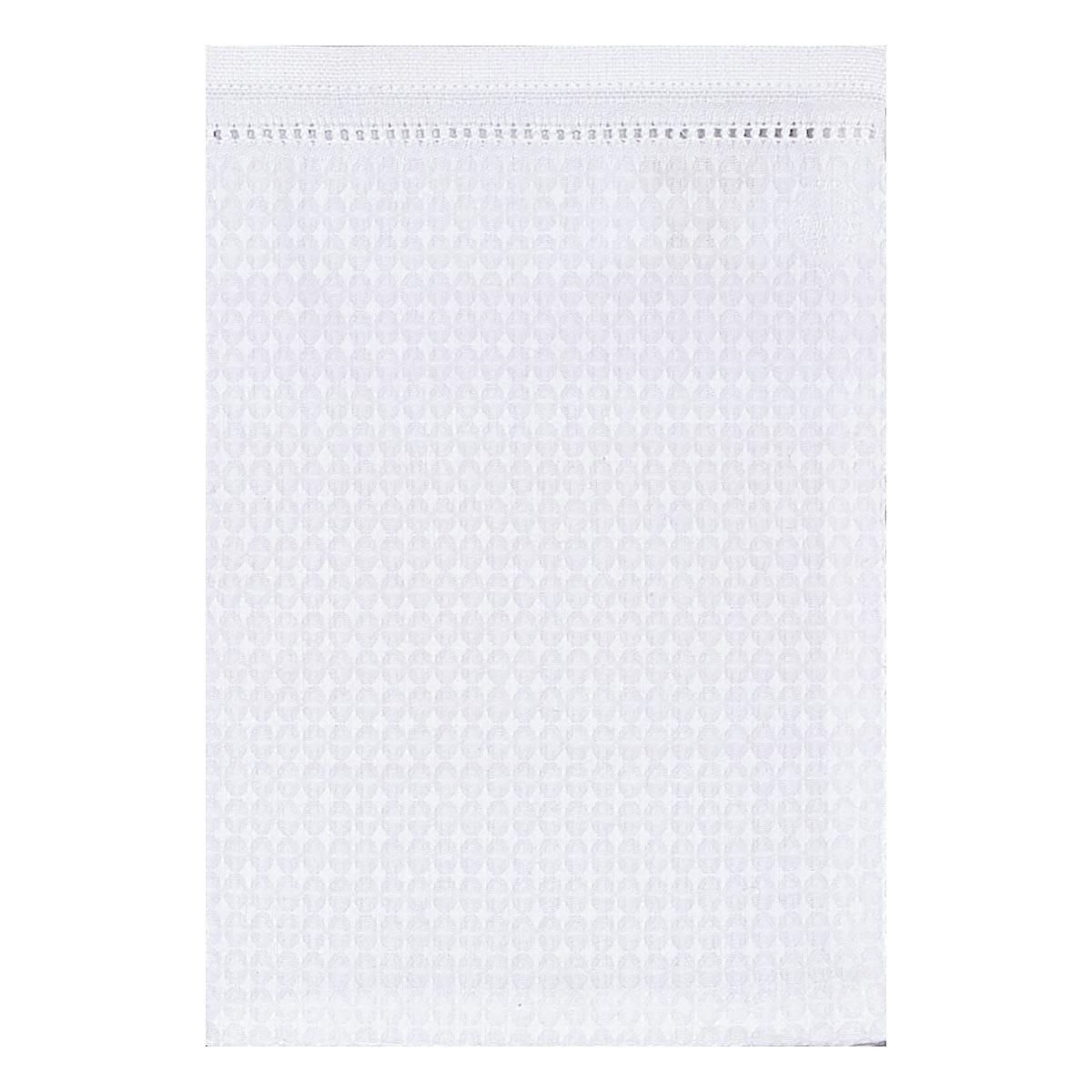 Gant de toilette en coton blanc 15 x 22