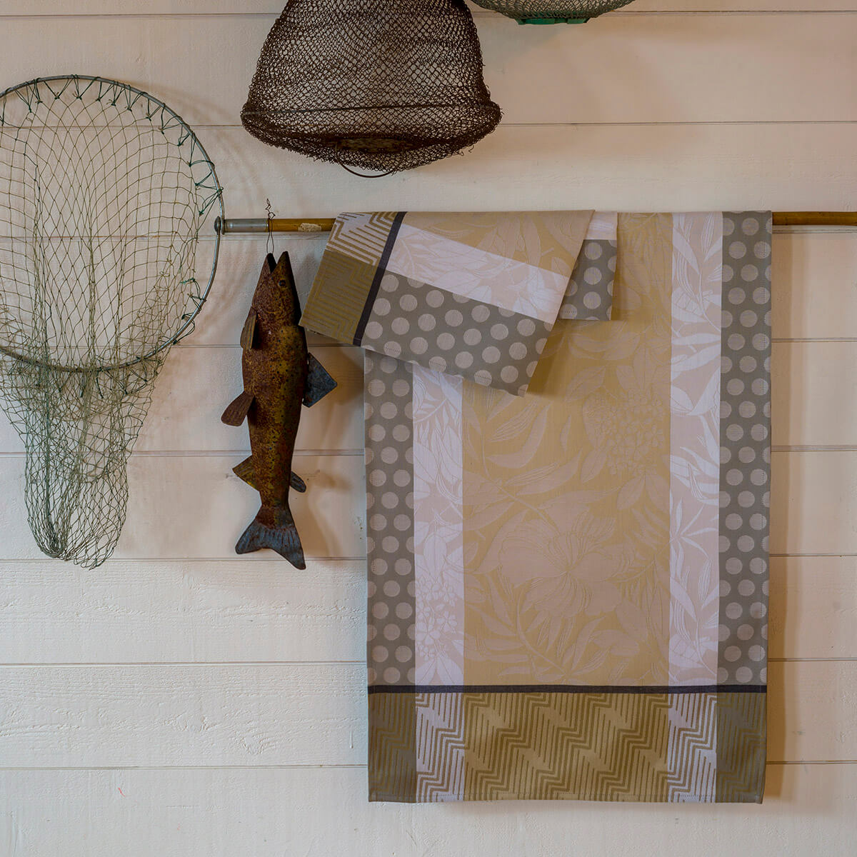 Chemin de table en coton chene 50 x 150