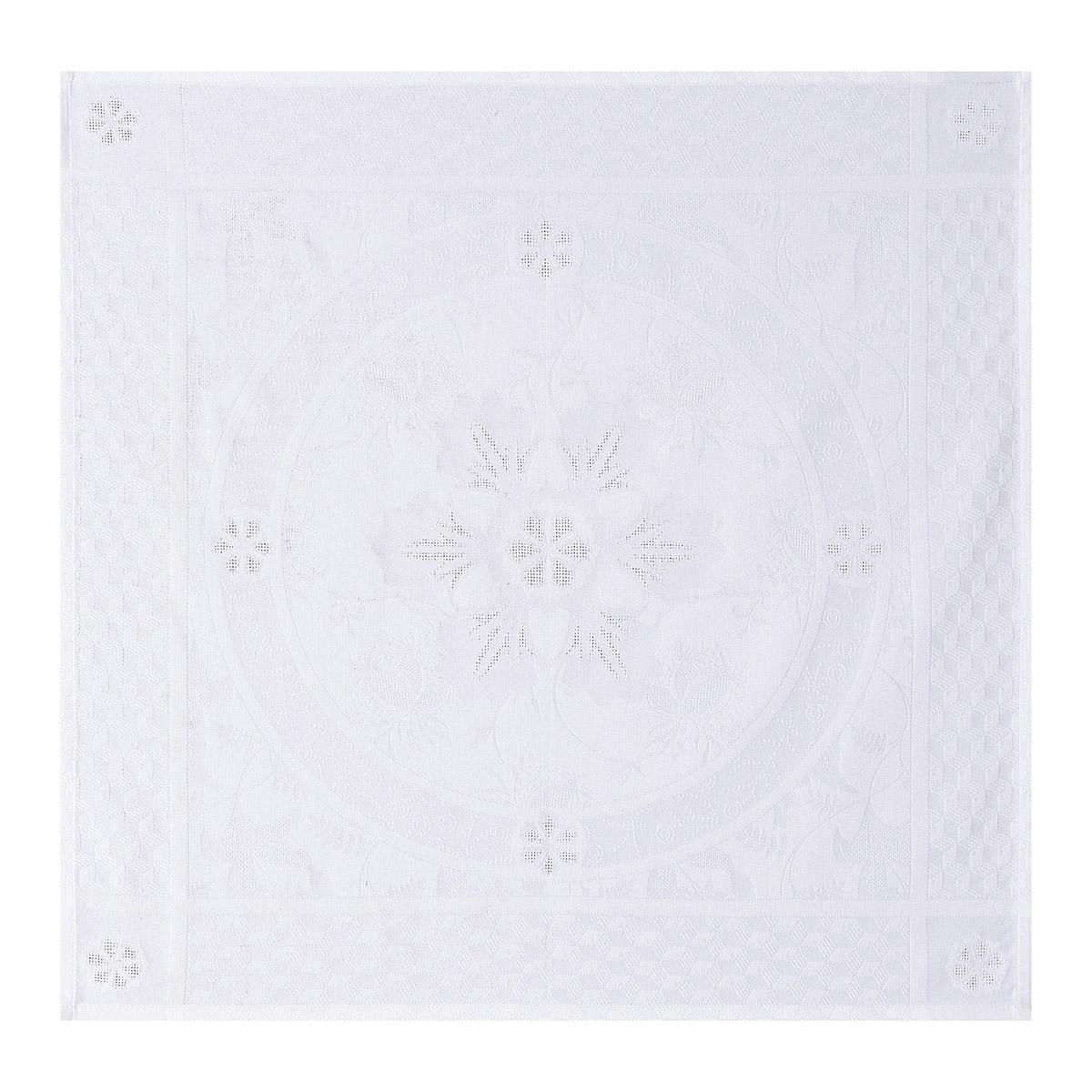 Serviette en coton blanc 58 x 58