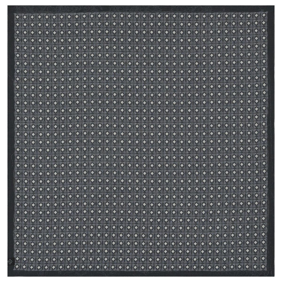 Serviette en coton charbon 58 x 58