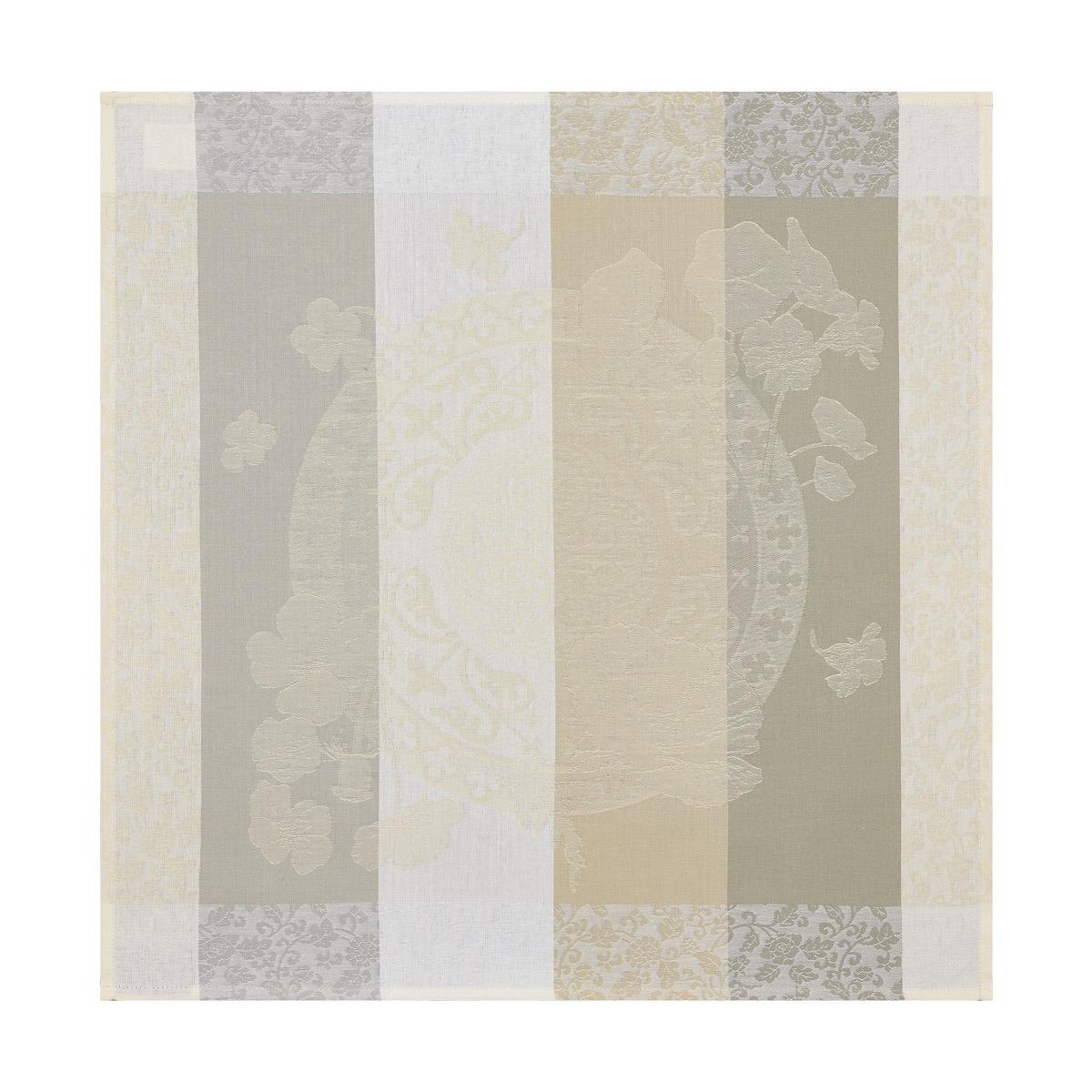 Serviette en coton craie 58 x 58