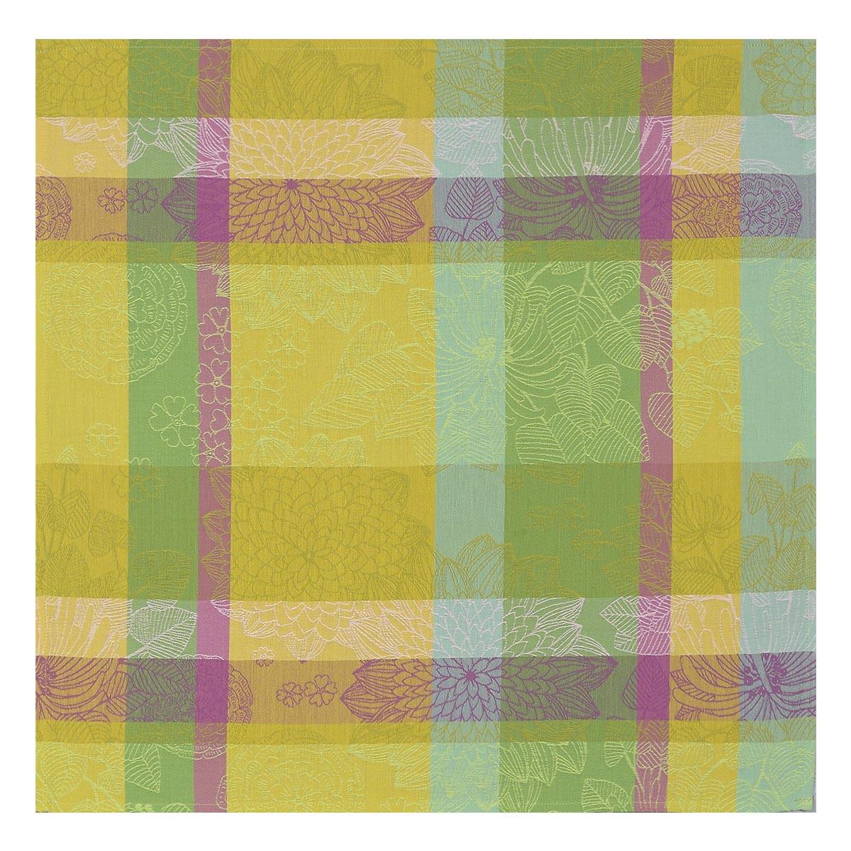Serviette en coton citron 58 x 58