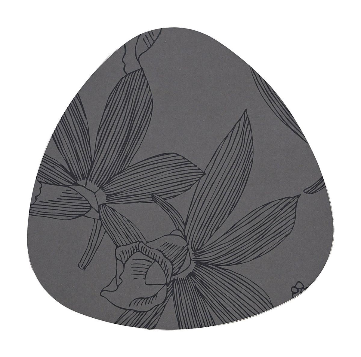 Dessous de plat en bois carbone Diam. 25
