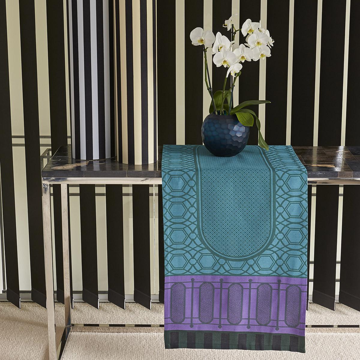 Chemin de table en coton buis 50 x 150