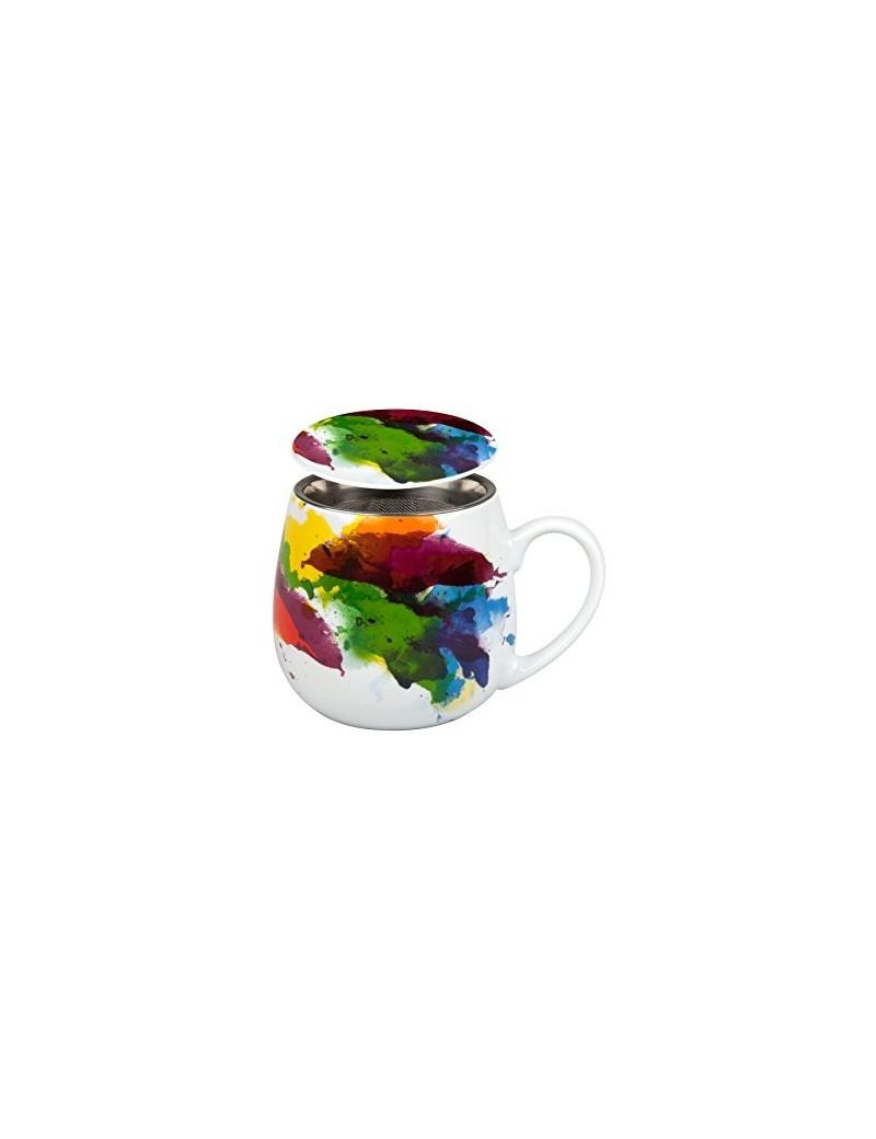 Mug snuggle avec filtre et couvercle desigual 420ml