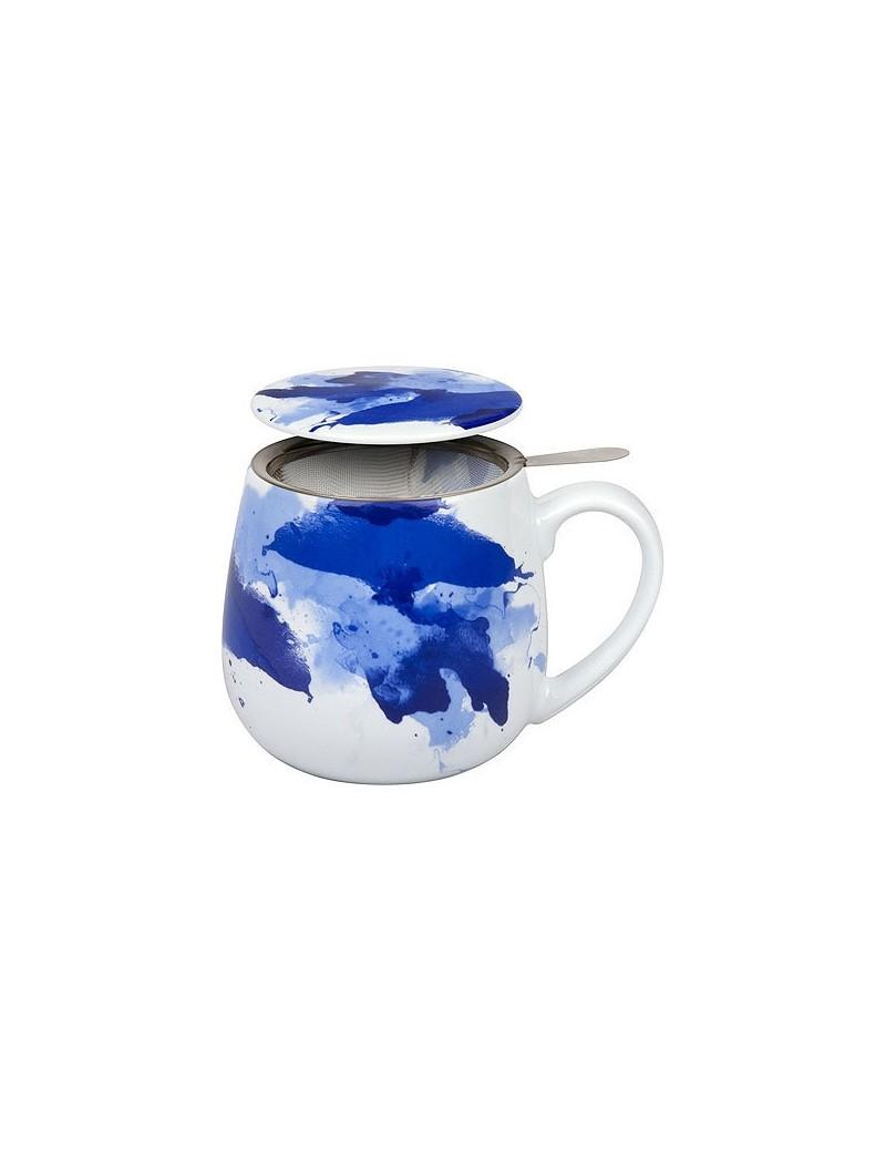 Mug snuggle avec filtre et couvercle seeing blue 420ml