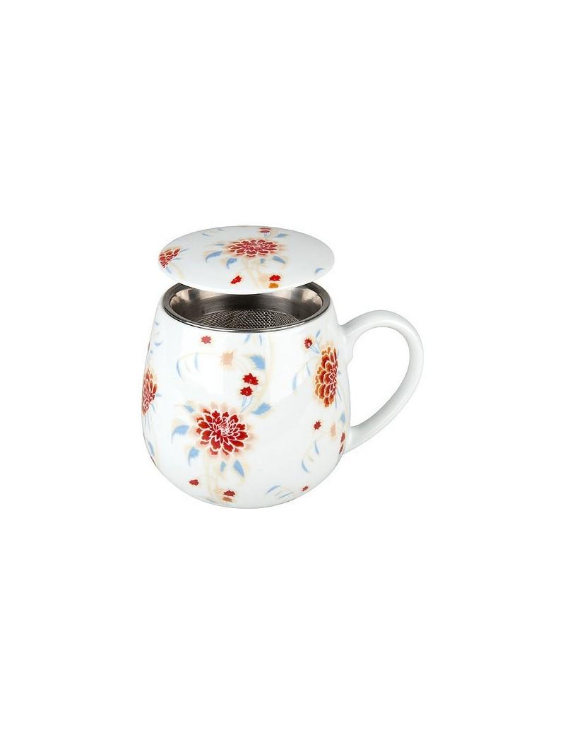 Mug snuggle avec filtre et couvercle beautiful she says 420ml