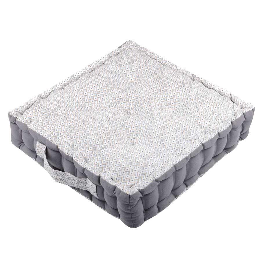 Coussin de sol 100% coton 45x45