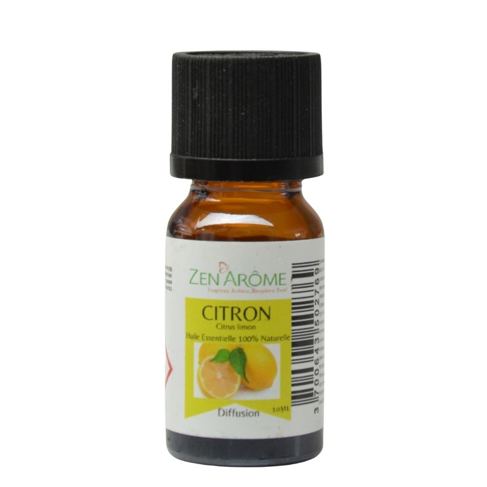 Huile essentielle citron 10ml