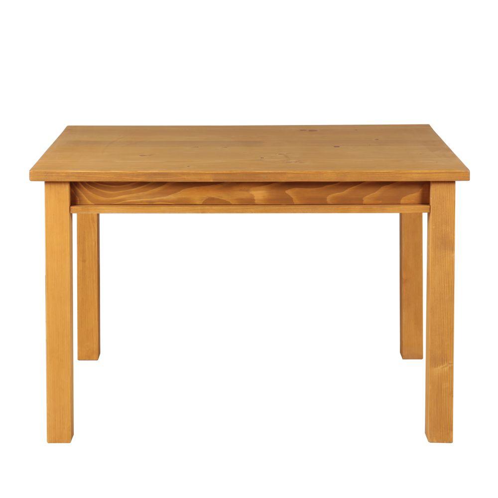 Table repas en pin massif 120 x 80 cm