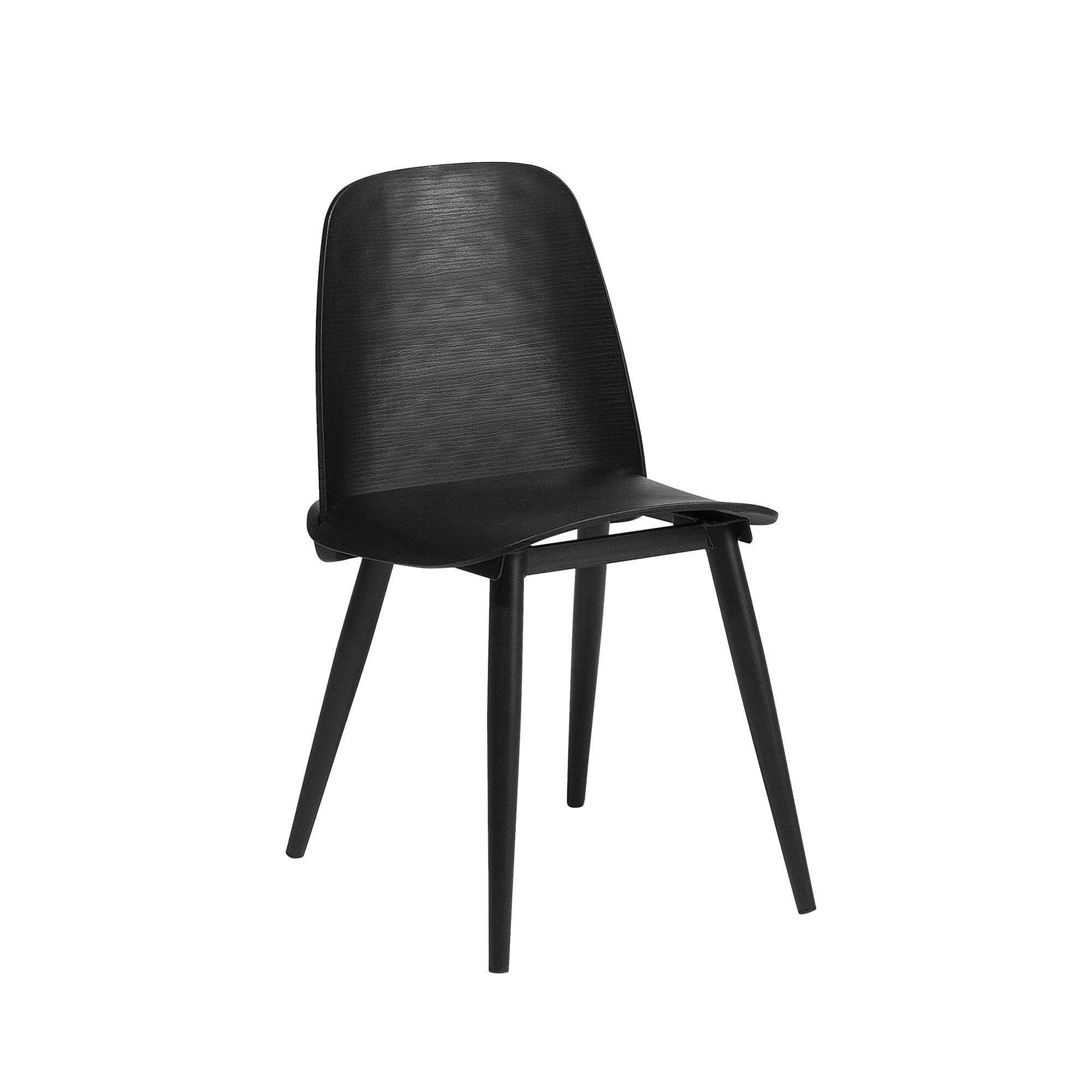 Chaise de salle à manger noire