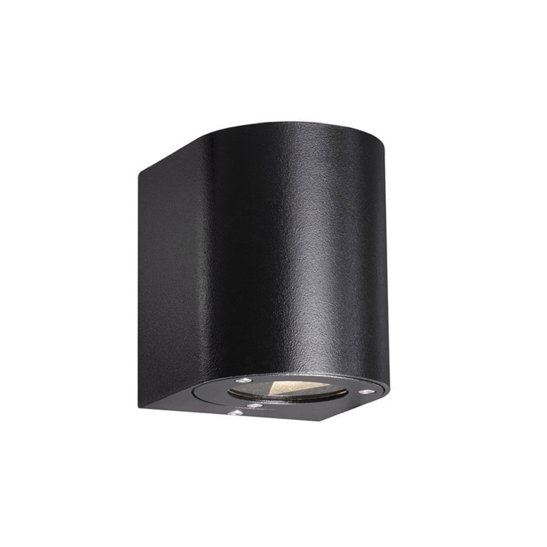 Applique d'extérieur LED 2 lumières métal H10,5cm