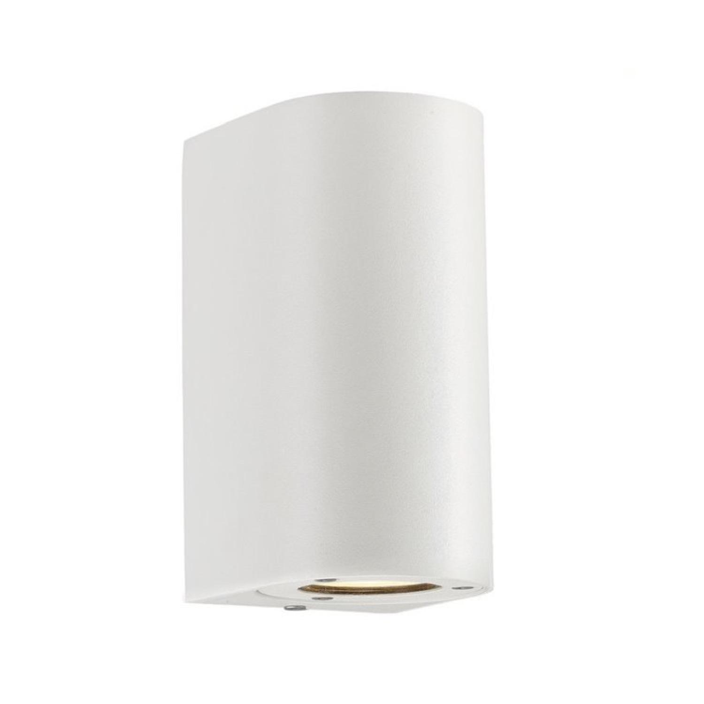 Applique d'extérieur 2 lumières métal H17cm