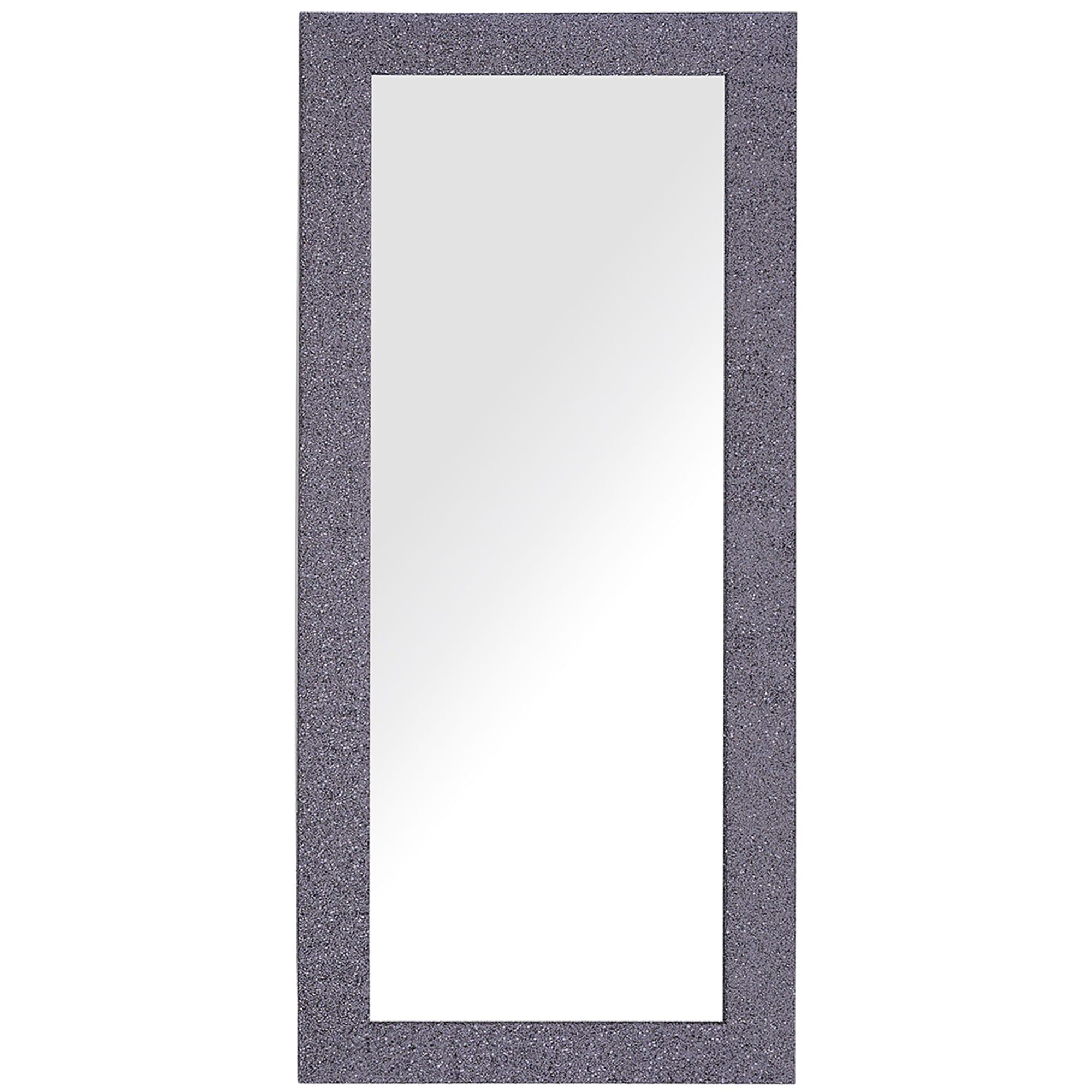 Miroir mural gris lilas 50 x 130 cm