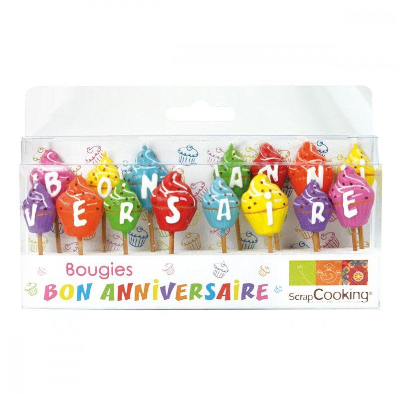 15 bougies bon anniversaire