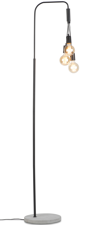 Lampadaire ciment 3 ampoules H190cm