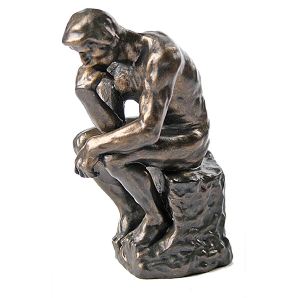 Reproduction du Penseur de Rodin H15cm