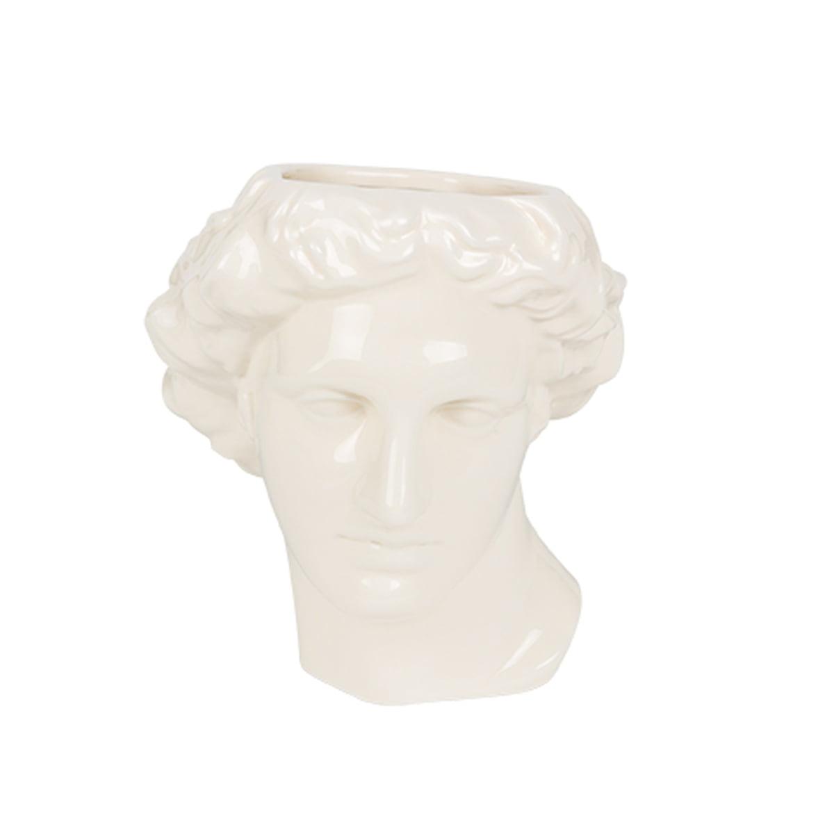 Vase cache-pot en céramique Apollon H23cm