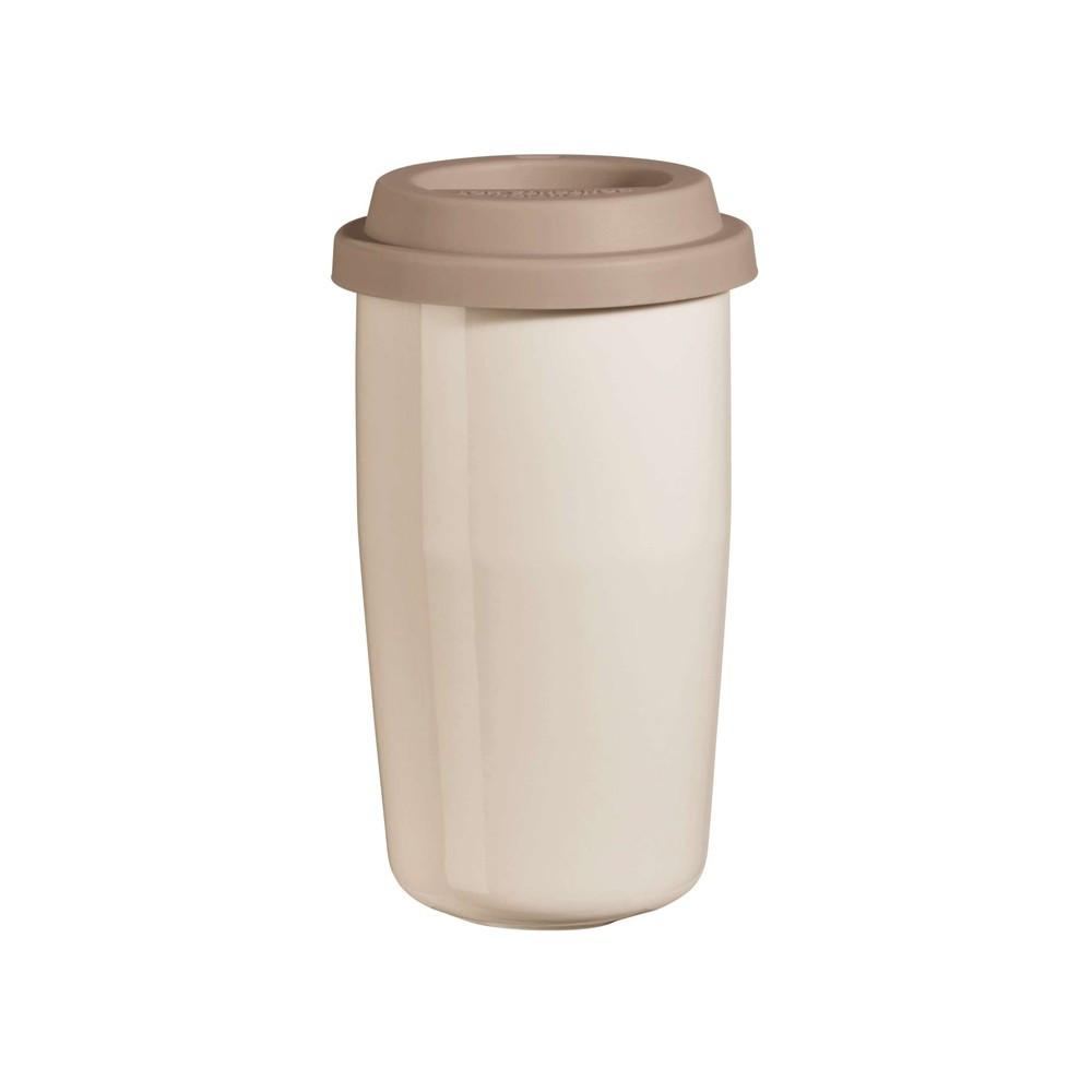 Mug isotherme en porcelaine crème 0,35cl