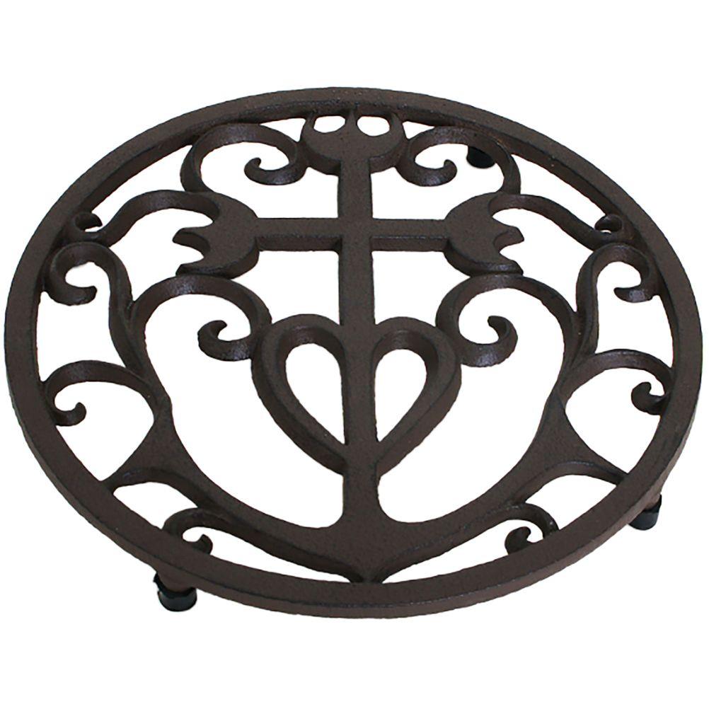 Repose plat croix camarguaise 21,5cm