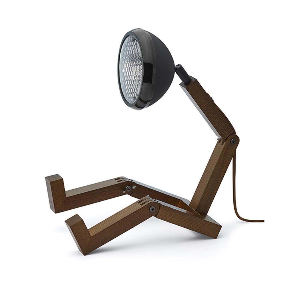 Lampe de table Mr. Wattson dark noir mat