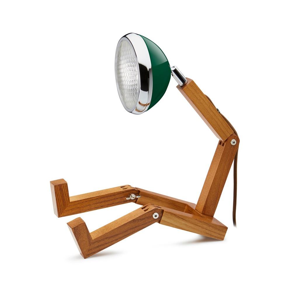 Lampe de table Mr. Wattson vert chiltern