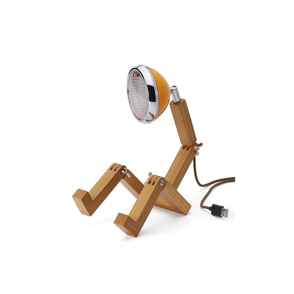 Lampe de table Mini Mr. Wattson orange Mc Laren