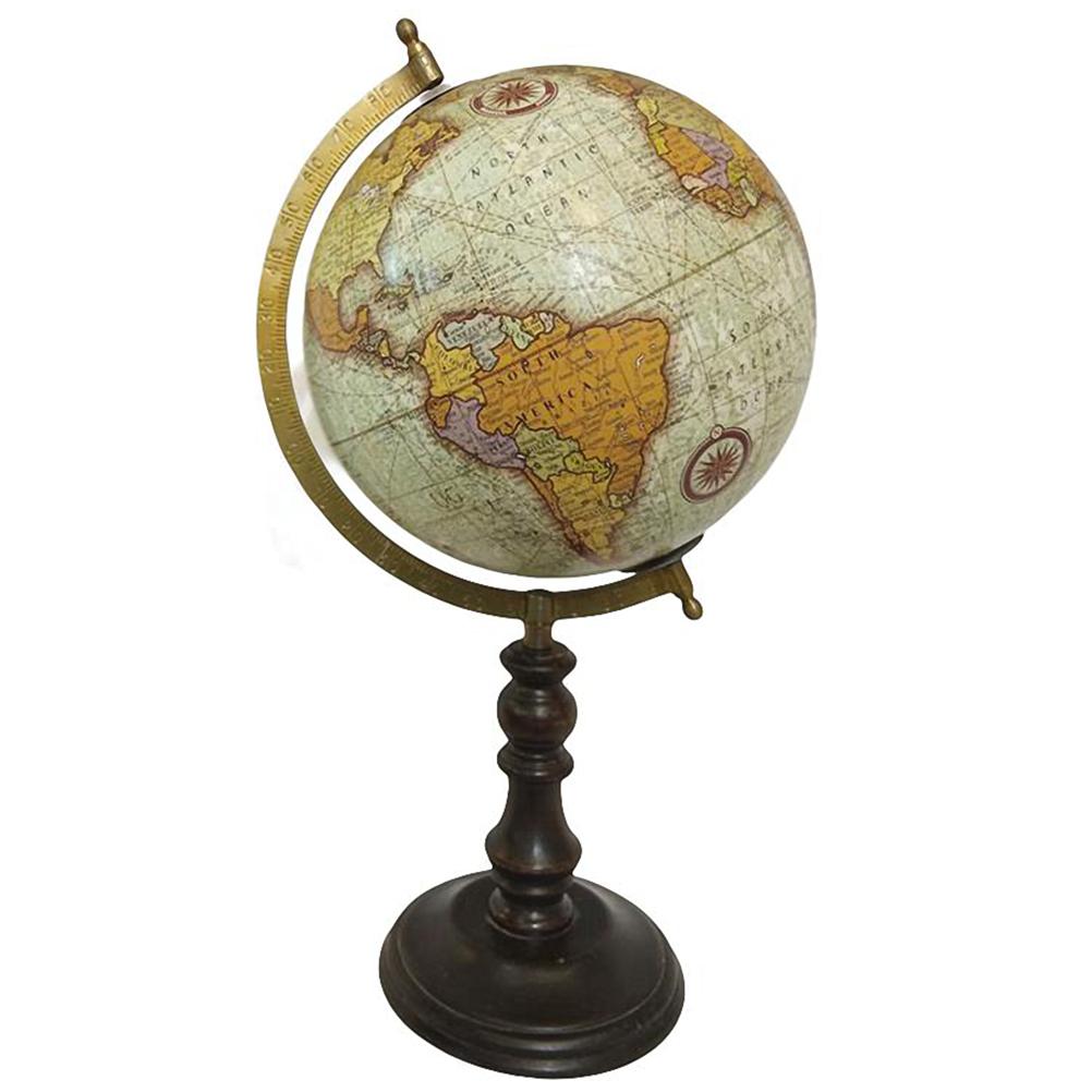 Décoration globe terrestre H40cm