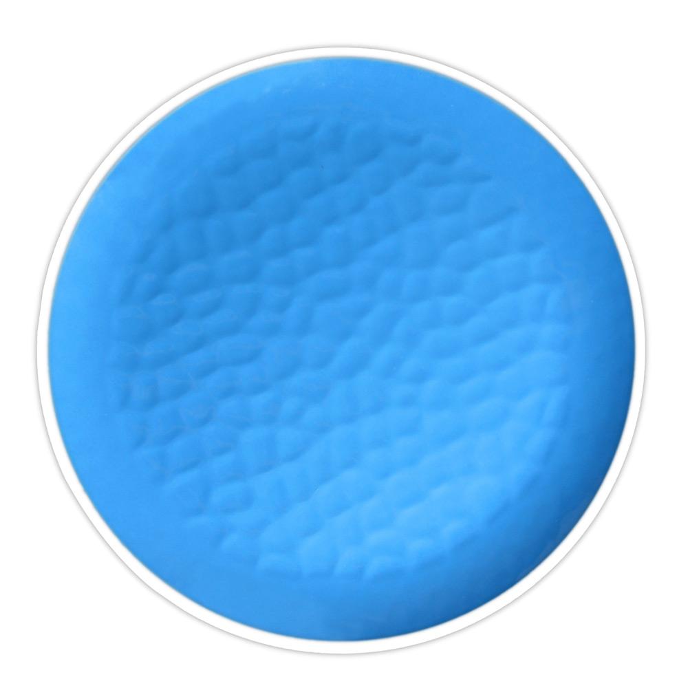 Assiette à dessert bleue 23 cm - Lot de 2