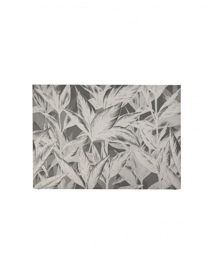 Tête de lit avec housse Gris 180 cm