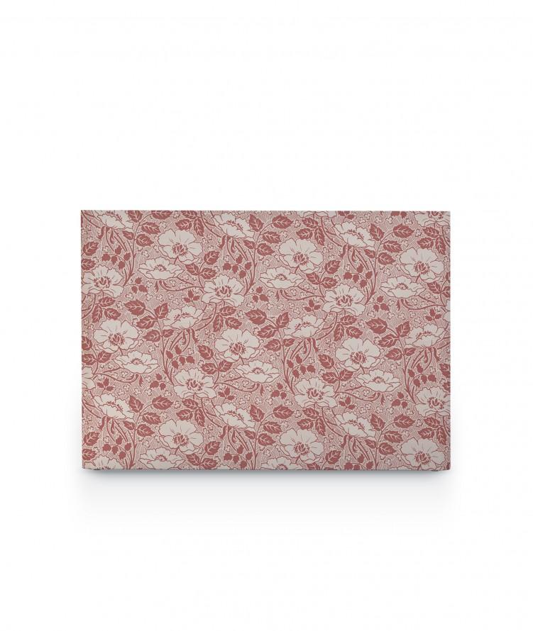Tête de lit avec housse Rose argile 140 cm