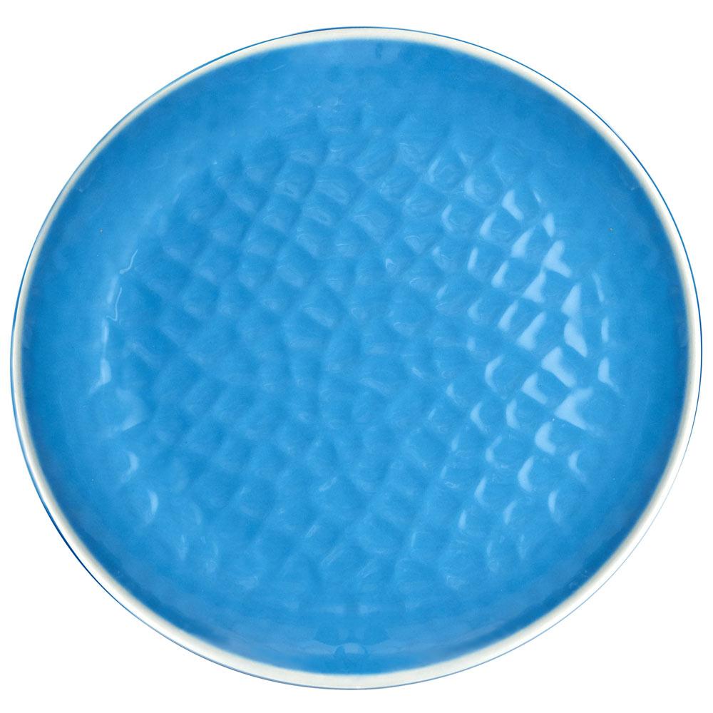 Grande assiette bleue 27 cm - Lot de 2