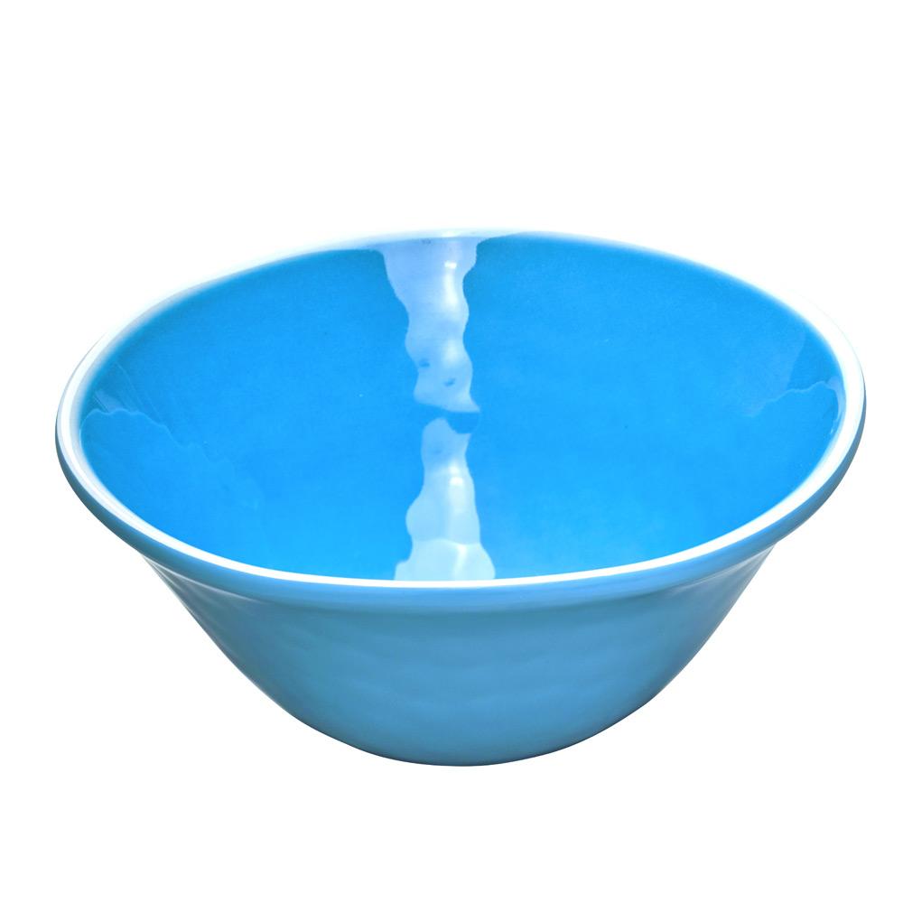 Bol en mélamine bleu 17 cm - Lot de 2