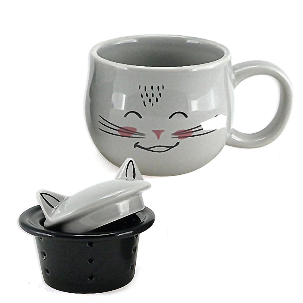 Mug avec infuseur chat
